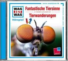 Was ist was Folge 42: Fantastische Tiersinne/Tierwanderungen, CD