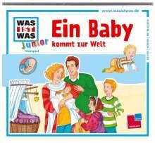 Charlotte Habersack: Was ist was Junior 15: Ein Baby kommt zur Welt, CD