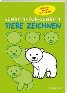 Tiere zeichnen - Schritt-für-Schritt, Buch