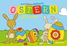 Kleines Malbuch Ostern. Hase, Blume, Osterspaß, Buch