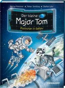 Bernd Flessner: Der kleine Major Tom. Band 12: Plutinchen in Gefahr, Buch