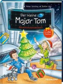 Bernd Flessner: Der kleine Major Tom. Adventskalenderbuch, Buch