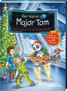 Bernd Flessner: Der kleine Major Tom. Weihnachten auf der Bodenstation. Adventskalenderbuch mit 24 Kapiteln, Buch