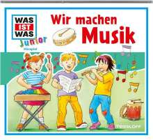 Was ist was Junior Hörspiel-CD 26: Wir machen Musik, CD