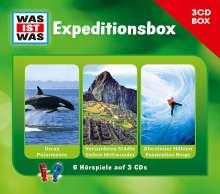 "3-CD-Hörspielbox ""Expedition"", 3 CDs"