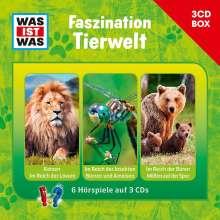 Was ist was 3-CD-Hörspielbox Faszination Tierwelt, 3 CDs