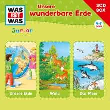 Was Ist Was Junior-3-CD Hörspielbox Vol.2 Erde, 3 CDs
