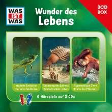 Was Ist Was 3-CD Hörspielbox Vol.10 - Leben, 3 CDs