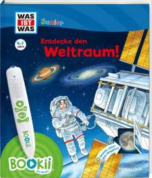 Claudia Kaiser: BOOKii® WAS IST WAS Junior Entdecke den Weltraum!, Buch