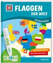 Manfred Baur: BOOKii® WAS IST WAS Stickeratlas Flaggen der Welt., Buch