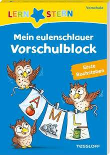 Julia Meyer: LERNSTERN. Mein eulenschlauer Vorschulblock. Erste Buchstaben, Buch