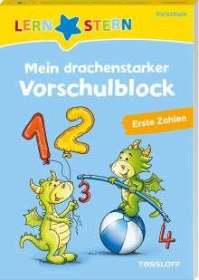Julia Meyer: LERNSTERN. Mein drachenstarker Vorschulblock. Erste Zahlen, Buch