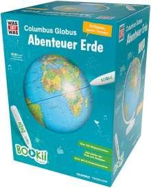 """Manfred Baur: BOOKii WAS IST WAS Columbus Globus """"Abenteuer Erde"""". Ohne Hörstift, Diverse"""