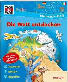Tatjana Marti: WAS IST WAS Junior Mitmach-Heft Die Welt entdecken, Buch