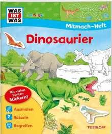 Sabine Schuck: WAS IST WAS Junior Mitmach-Heft Dinosaurier, Buch