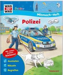 Tatjana Marti: WAS IST WAS Junior Mitmach-Heft. Polizei, Buch
