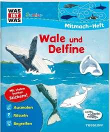 Tatjana Marti: WAS IST WAS Junior Mitmach-Heft. Wale und Delfine., Buch
