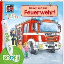 Andrea Weller-Essers: BOOKii® WAS IST WAS Kindergarten Unterwegs mit der Feuerwehr!, Buch