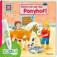 Sandra Noa: BOOKii® WAS IST WAS Kindergarten Komm mit auf den Ponyhof!, Buch