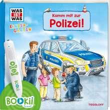Benjamin Schreuder: BOOKii® WAS IST WAS Kindergarten Komm mit zur Polizei!, Buch