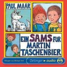 Paul Maar: Ein Sams für Martin Taschenbier, 2 CDs