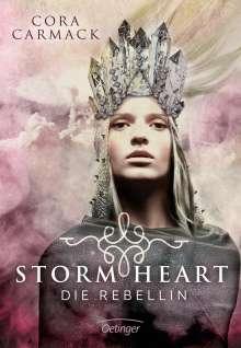 Cora Carmack: Stormheart 01. Die Rebellin, Buch