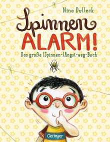 Nina Dulleck: Spinnen-Alarm, Buch