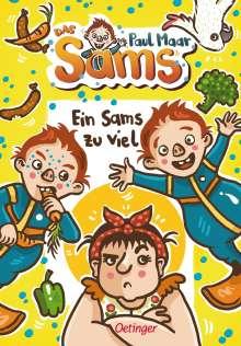 Paul Maar: Ein Sams zu viel, Buch