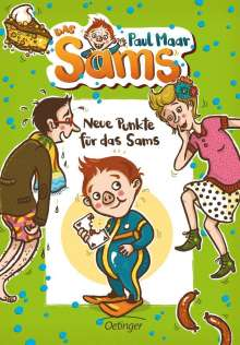 Paul Maar: Neue Punkte für das Sams, Buch