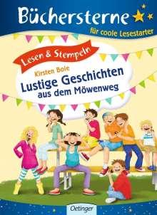Kirsten Boie: Lesen & Stempeln. Lustige Geschichten aus dem Möwenweg, Buch