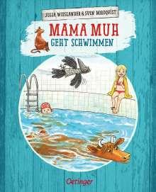 Jujja Wieslander: Mama Muh geht schwimmen, Buch