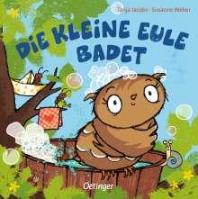 Susanne Weber: Die kleine Eule badet, Buch