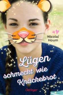 Nicolai Houm: Lügen schmeckt wie Knäckebrot, Buch