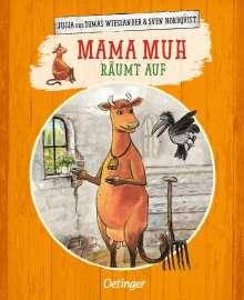 Jujja Wieslander: Mama Muh räumt auf, Buch