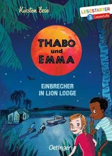 Kirsten Boie: Thabo und Emma, Buch