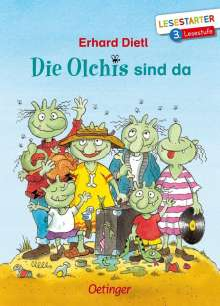Erhard Dietl: Die Olchis sind da, Buch