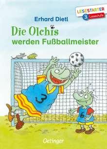 Erhard Dietl: Die Olchis werden Fußballmeister, Buch