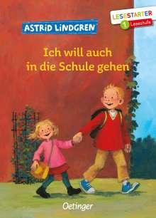 Astrid Lindgren: Ich will auch in die Schule gehen, Buch