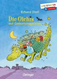 Erhard Dietl: Die Olchis auf Geburtstagsreise, Buch