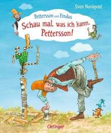 Sven Nordqvist: Schau mal, was ich kann, Pettersson!, Buch