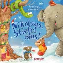 Susanne Weber: Nikolaus, Stiefel raus!, Buch