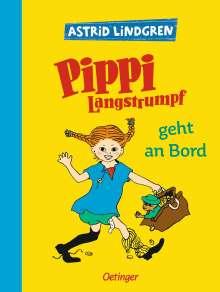 Astrid Lindgren: Pippi Langstrumpf geht an Bord, Buch