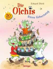 Erhard Dietl: Die Olchis feiern Geburtstag, Buch