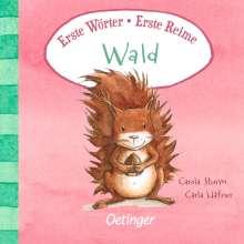 Carla Häfner: Erste Wörter - Erste Reime. Wald, Buch