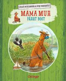 Jujja Wieslander: Mama Muh fährt Boot, Buch