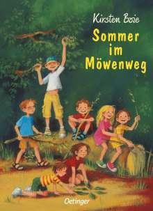 Kirsten Boie: Sommer im Möwenweg, Buch