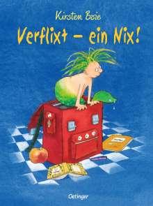 Kirsten Boie: Verflixt - ein Nix!, Buch