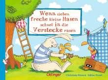 Sabine Praml: Wenn sieben freche kleine Hasen schnell in die Verstecke rasen, Buch