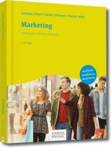 Andreas Scharf: Marketing, Buch