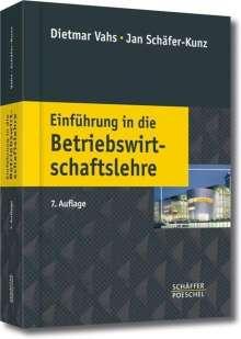 Dietmar Vahs: Einführung in die Betriebswirtschaftslehre, Buch